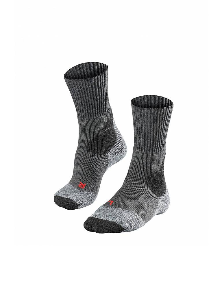FALKE | Damen Wandersocken TK4 Expedition | grau