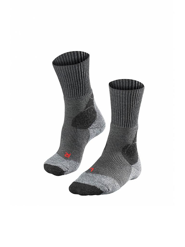 FALKE | Herren Wandersocken TK4 Expedition | grau
