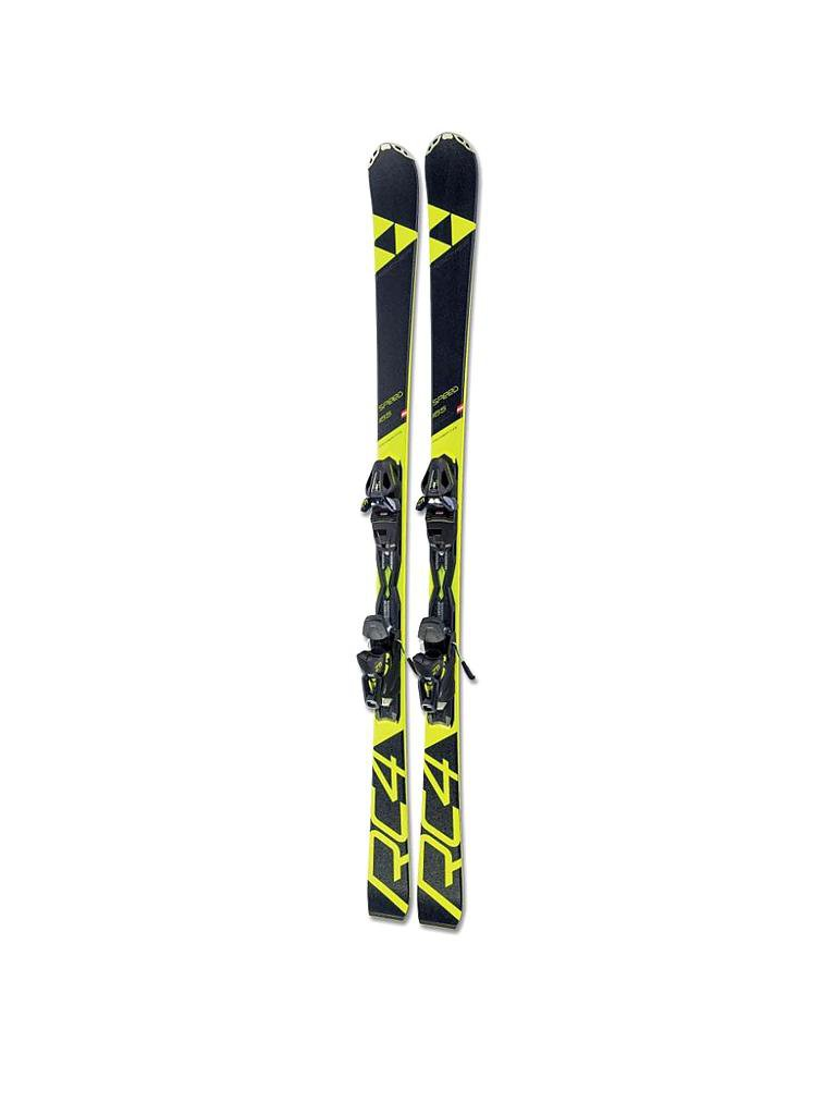 FISCHER | Kinderski-Set RC4 Speed Jr. 18/19 | schwarz