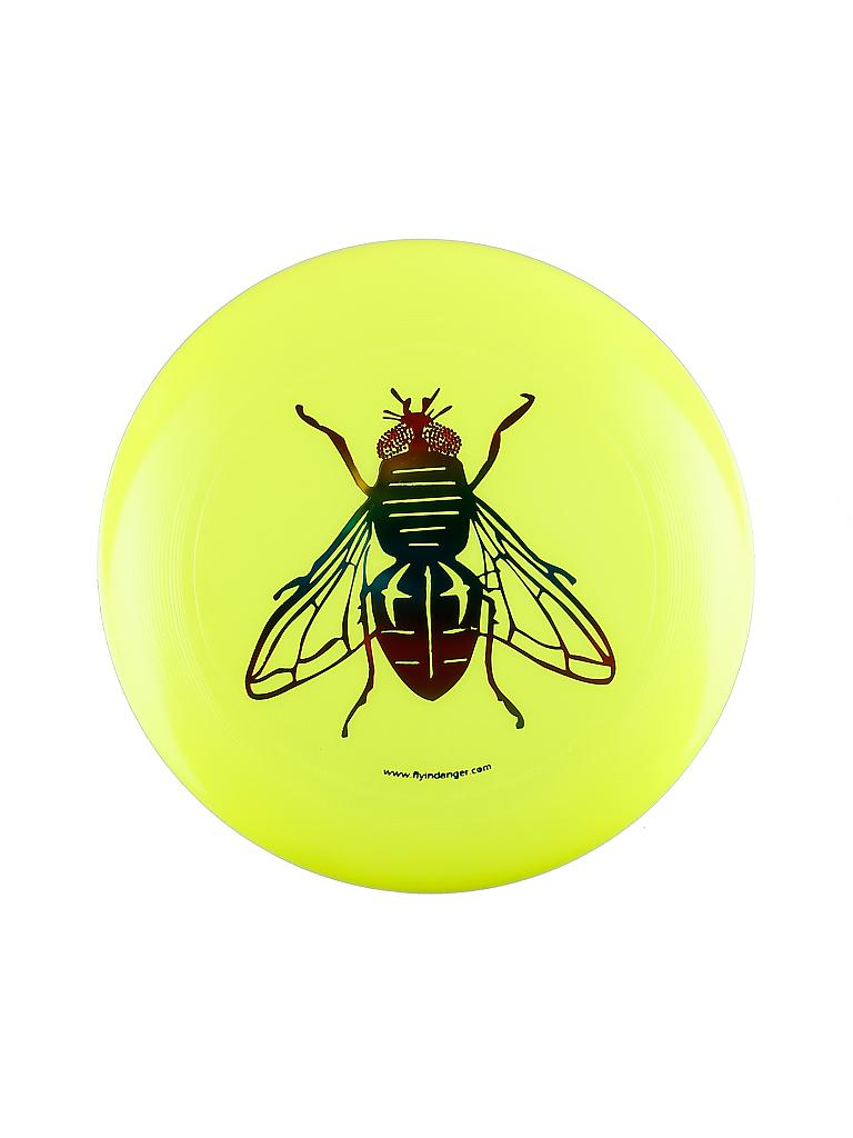 FLY IN DANGER | Frisbee Ultimate Disc Fly | gelb