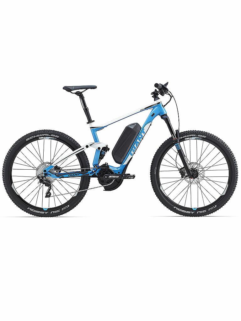 giant e mountainbike 27 5 full e 1 blau m. Black Bedroom Furniture Sets. Home Design Ideas