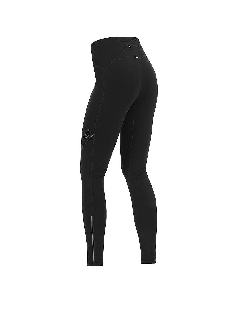 GORE | Damen Lauftight Thermo Essential | schwarz