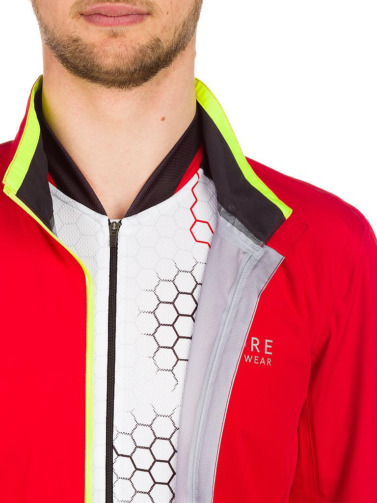 GORE | Herren Rad-Regenjacke Power GT AS | rot
