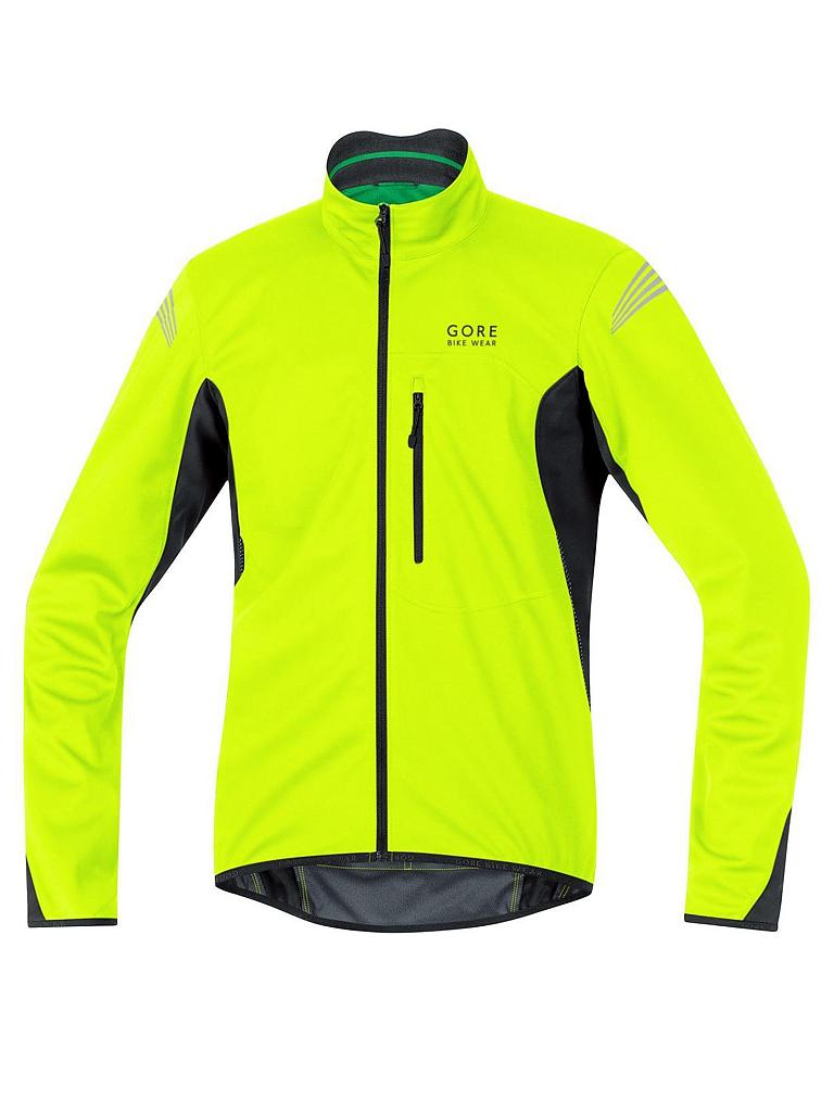 GORE | Herren Radjacke Element WS SO | gelb
