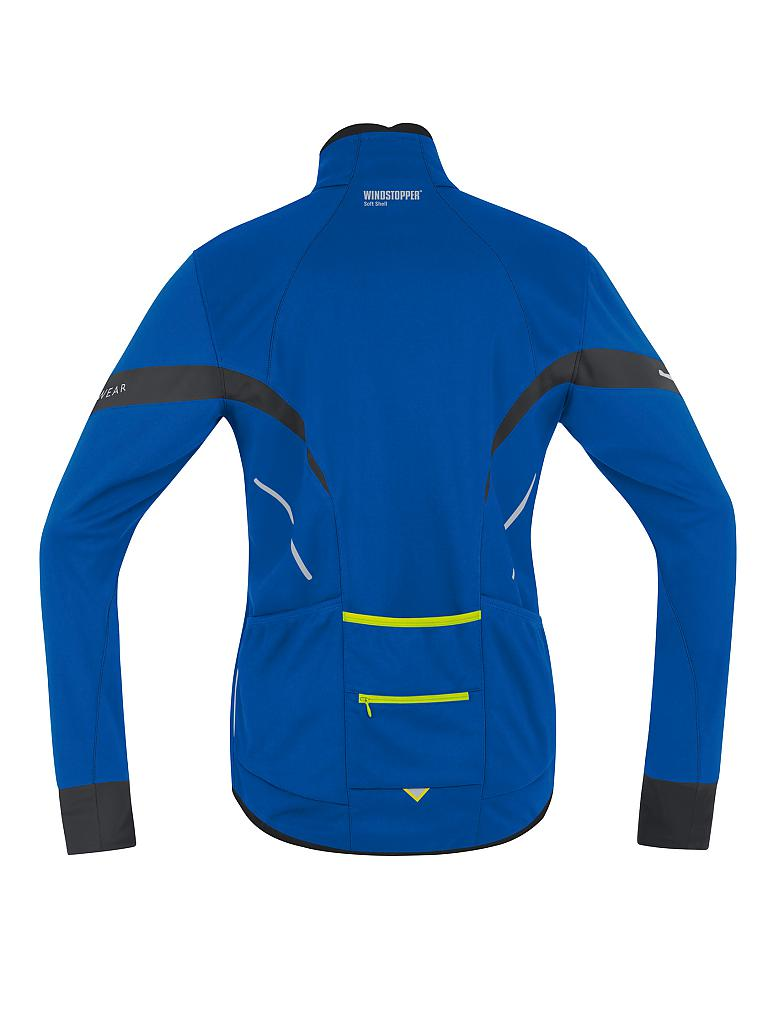 GORE | Herren Radjacke Power 2.0 SO | blau