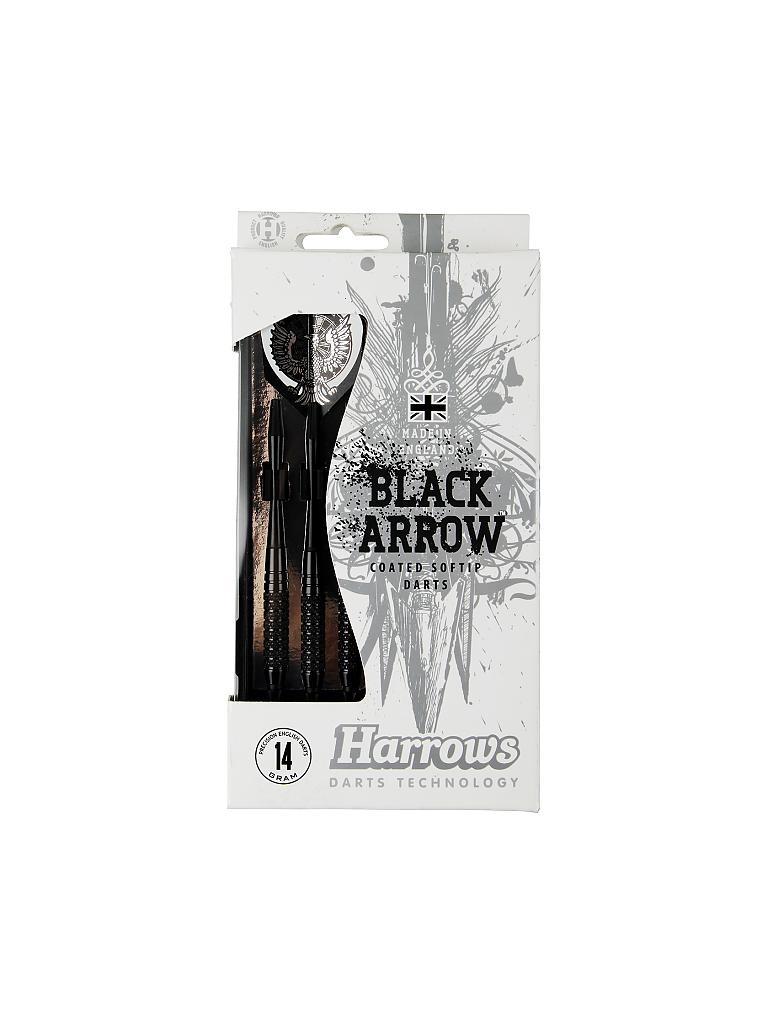 HARROWS | Dartpfeil Softip Black Arrow | schwarz