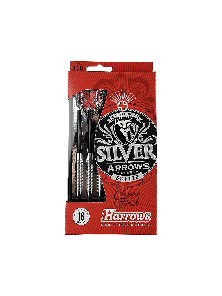 HARROWS | Dartpfeil Softip Silver Arrow | silber