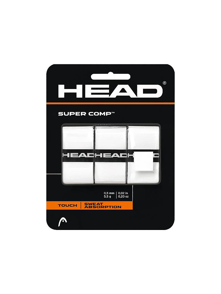 HEAD | Tennis Overgrips Super Comp | weiß
