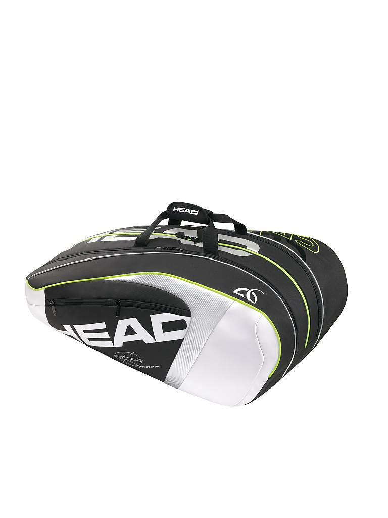 HEAD | Tennistasche Djokovic 12R Monstercombi | schwarz