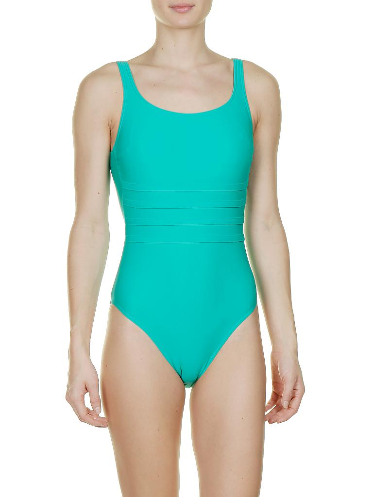 HOT STUFF | Damen Badeanzug Basic | grün