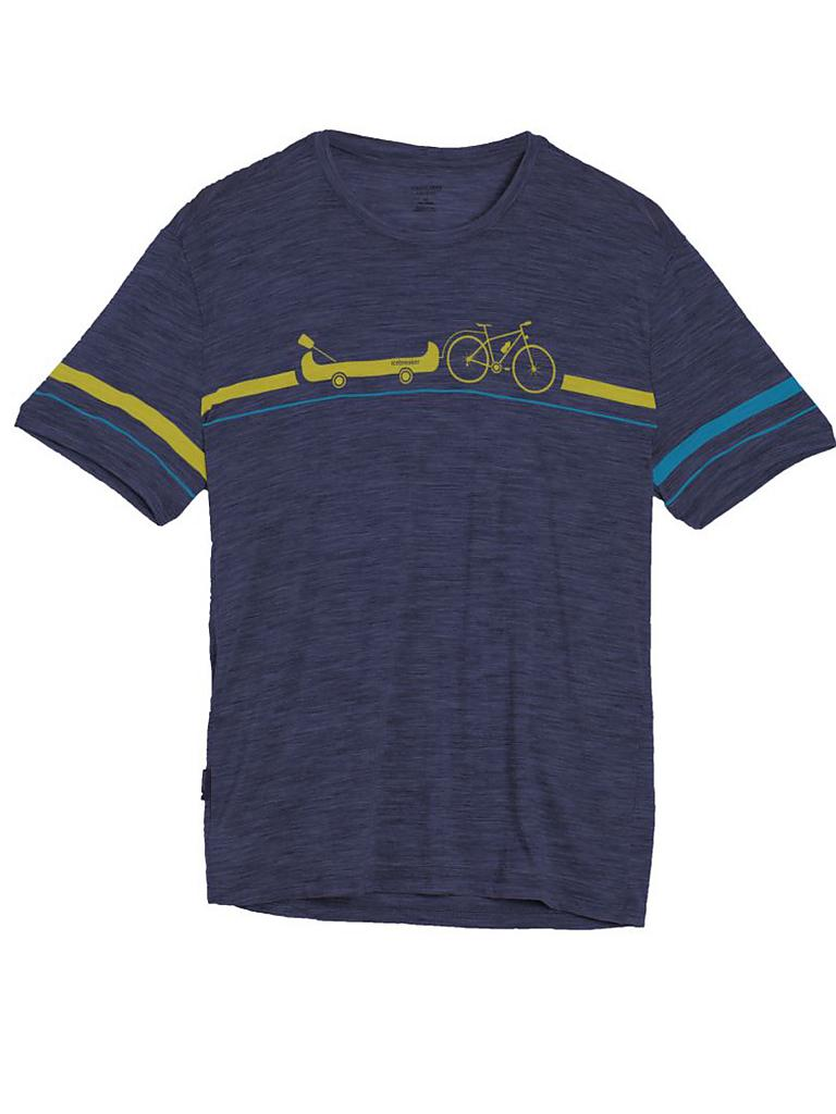 ICEBREAKER | Herren Funktionsshirt Tech Lite  Road to River | blau