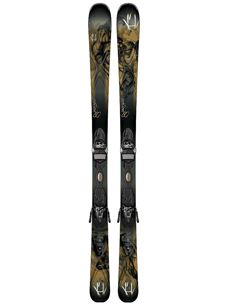 K2 | Damen All-Mountain Ski Potion 80 X  | schwarz