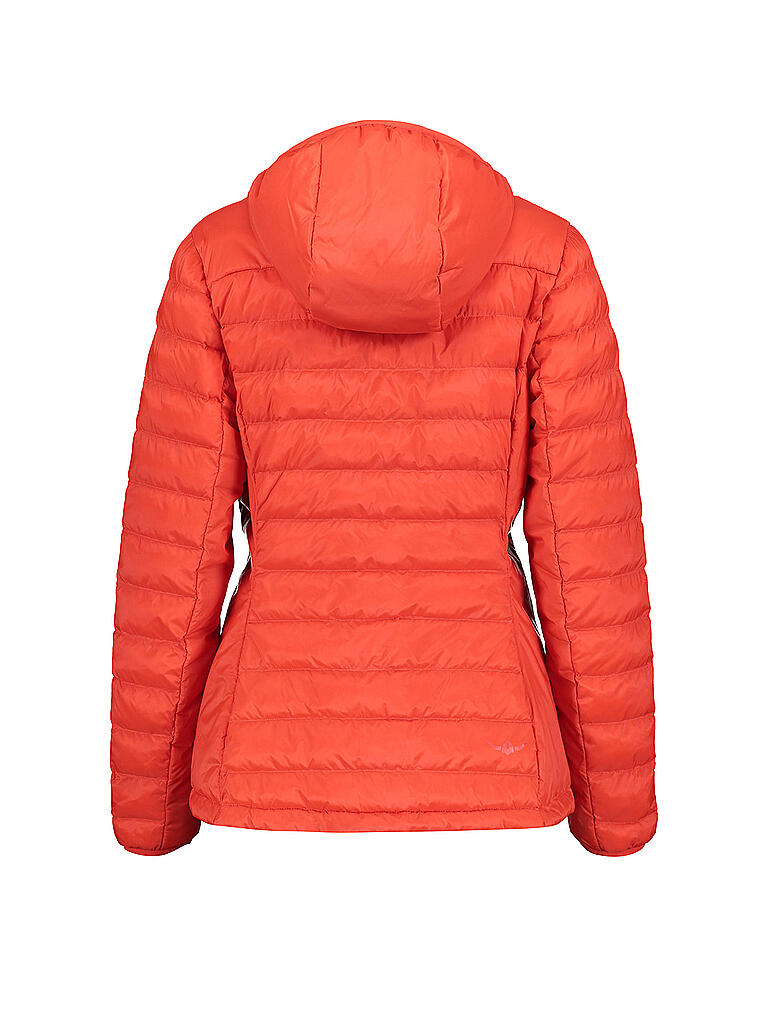 KAIKKIALLA | Damen Isolationsjacke Viivi | orange