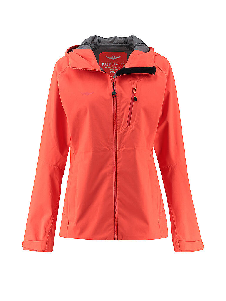 KAIKKIALLA | Damen Softshelljacke Viola | orange