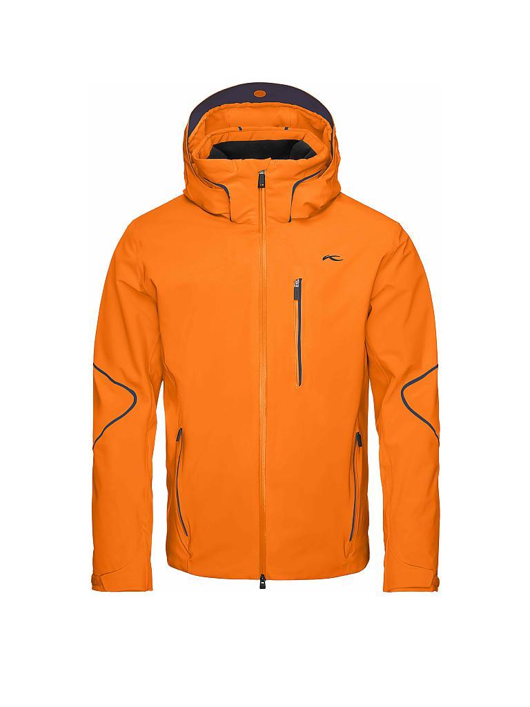 kjus herren skijacke formula orange 50. Black Bedroom Furniture Sets. Home Design Ideas