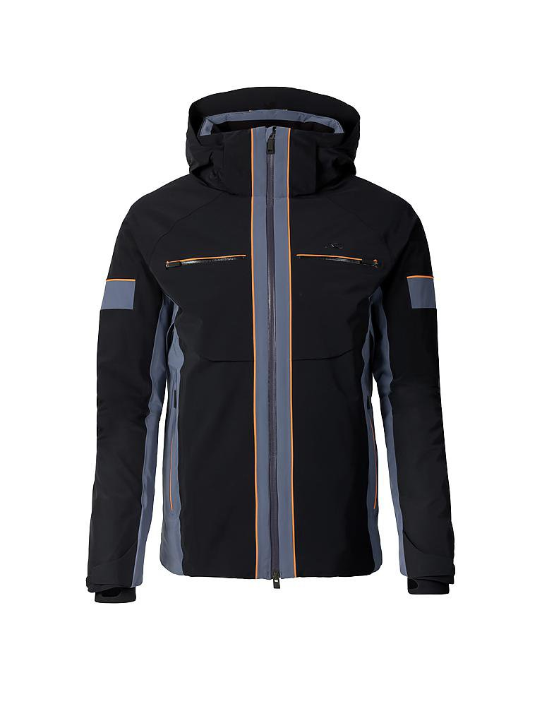 kjus herren skijacke men downforce jacket schwarz 48. Black Bedroom Furniture Sets. Home Design Ideas