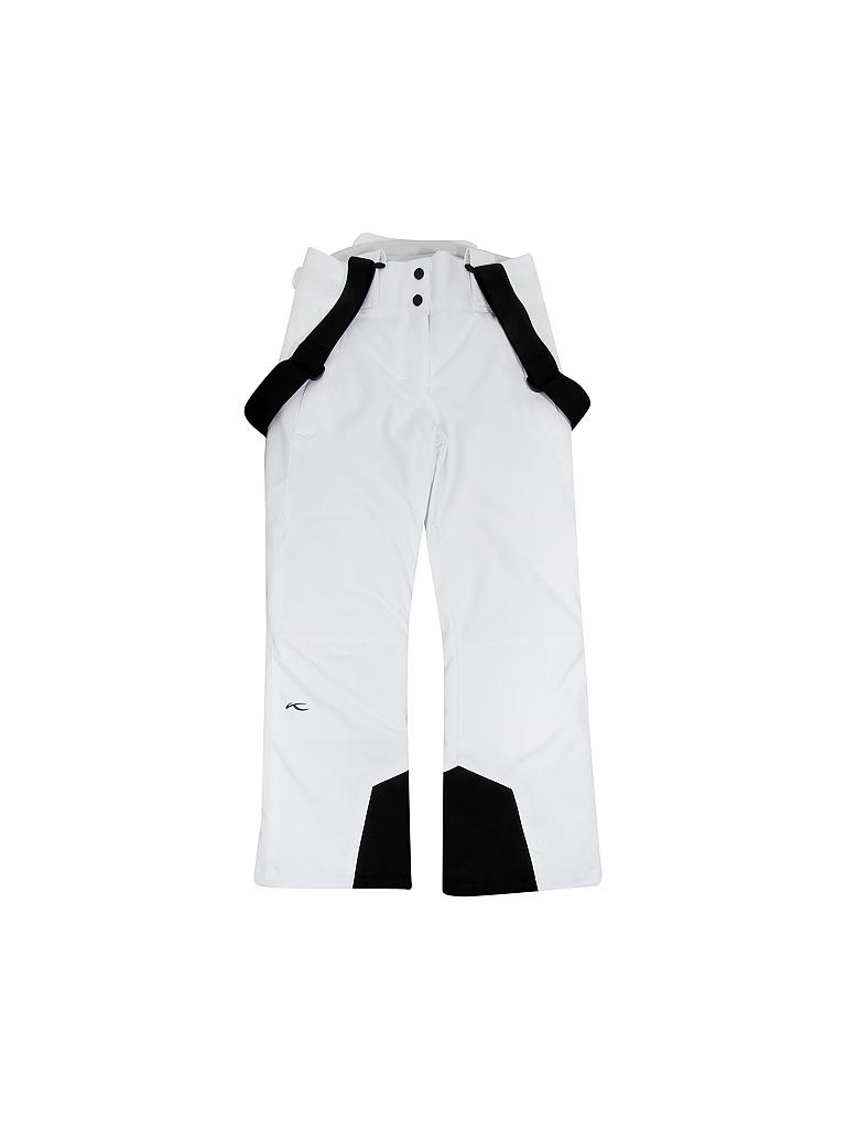 KJUS | Kinder Skihose Girls Silica Pants | weiß