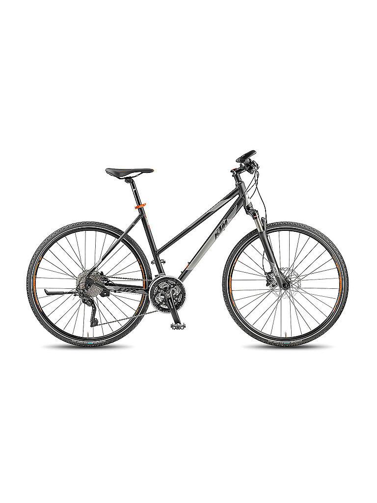 ktm damen crossbike 28 life action 2018 schwarz 46cm. Black Bedroom Furniture Sets. Home Design Ideas