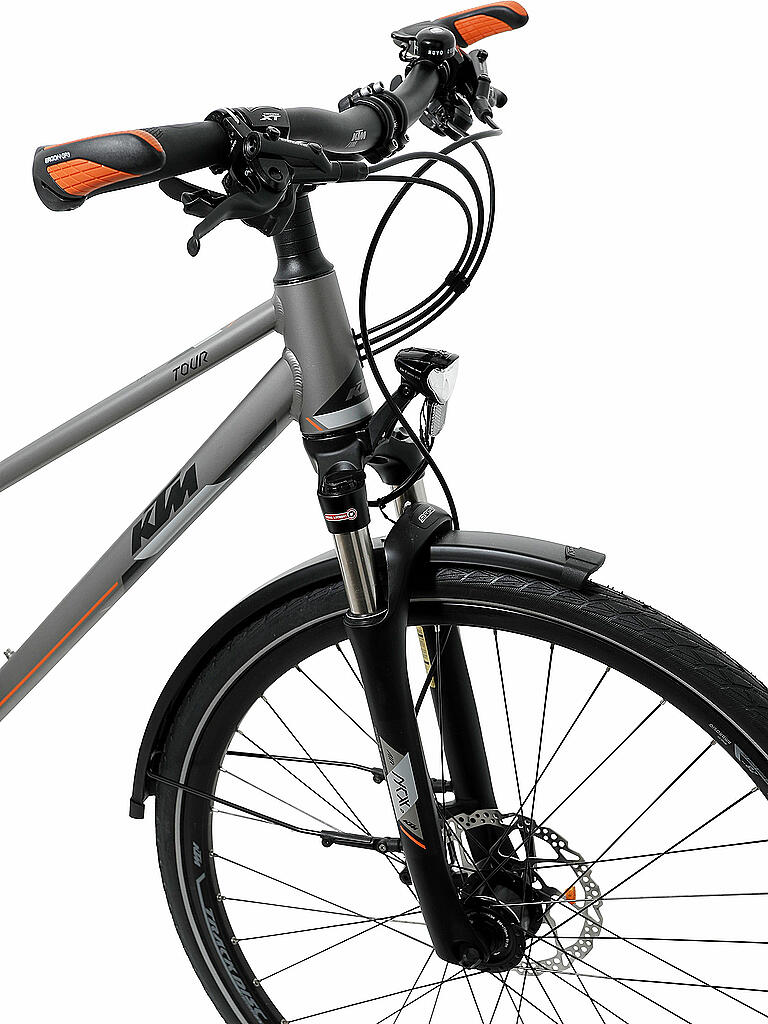 ktm damen trekkingbike 28 life tour 2018 grau 46cm. Black Bedroom Furniture Sets. Home Design Ideas
