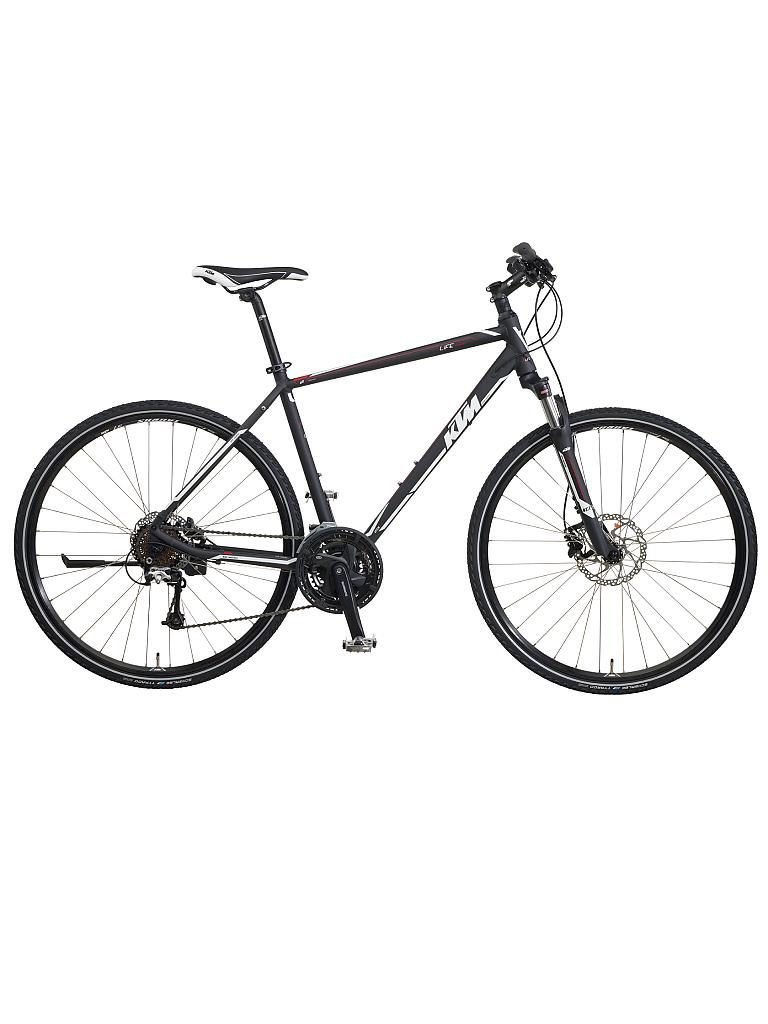 KTM | Herren Crosstrekking Bike Life Country | schwarz