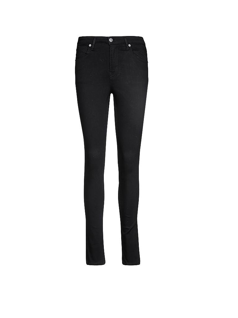 levi 39 s damen bike jeans skinny schwarz w25 l32. Black Bedroom Furniture Sets. Home Design Ideas