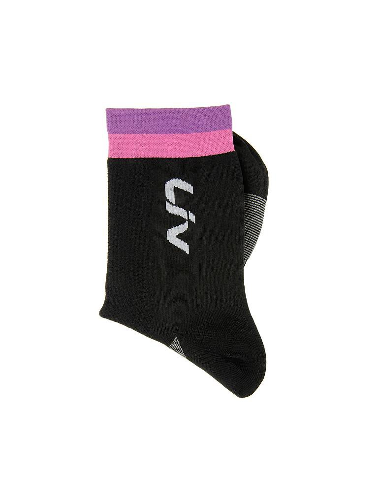 LIV by GIANT | Damen Radsocken Race Day | schwarz