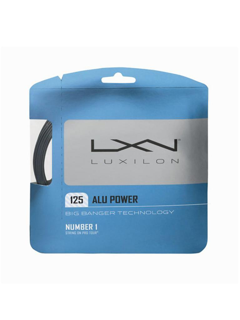 LUXILON | Tennissaite Alu Power 12.2m | silber