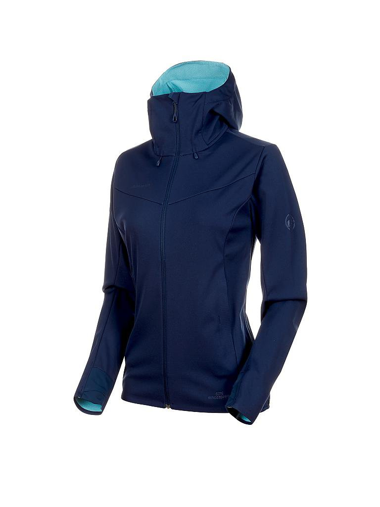 MAMMUT | Damen Softshelljacke Ultimate GORE® WINDSTOPPER® | blau
