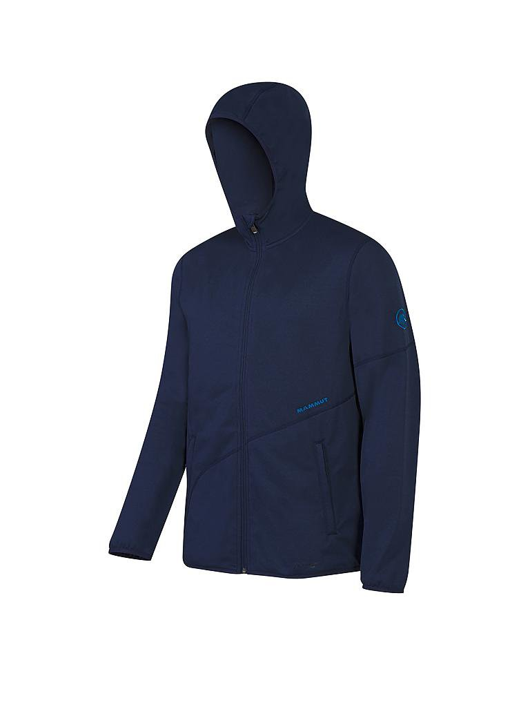 MAMMUT | Herren Fleecejacke Go Far Hooded | blau
