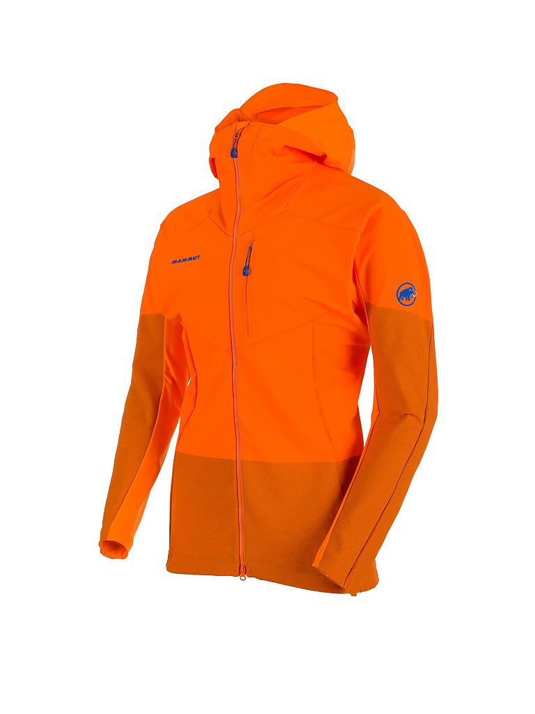MAMMUT | Herren Softshelljacke Eisfeld Light Hoody | orange