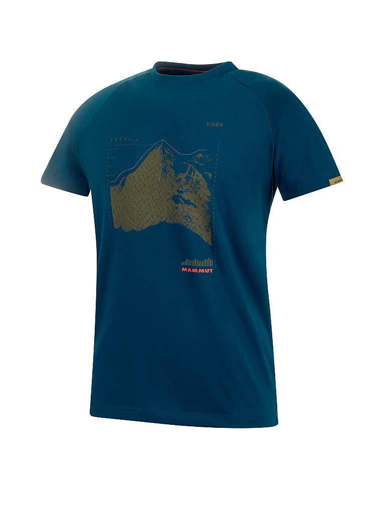 MAMMUT | Herren T-Shirt Mountain | blau