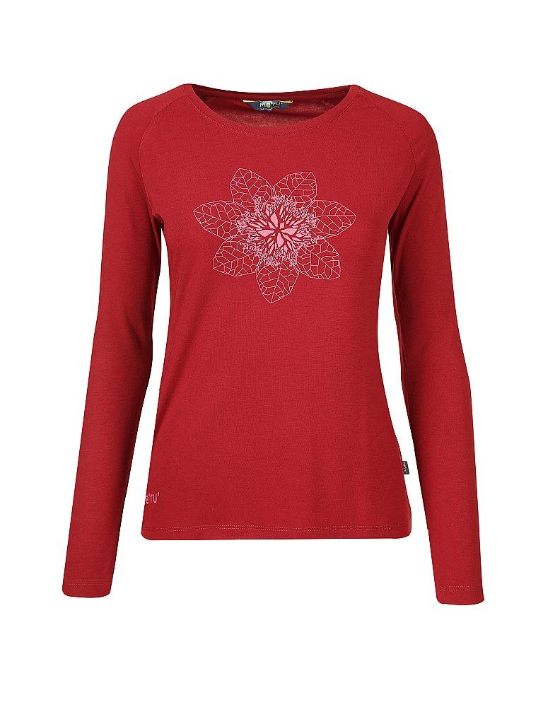 in versch Gr/ö/ßen: 36-50 Longshirt mit nat/ürlicher Baumwolle Damenbekleidung con-ta Thermo Langarm Shirt Farben Rundhalsausschnitt w/ärmende Unterw/äsche f/ür Damen