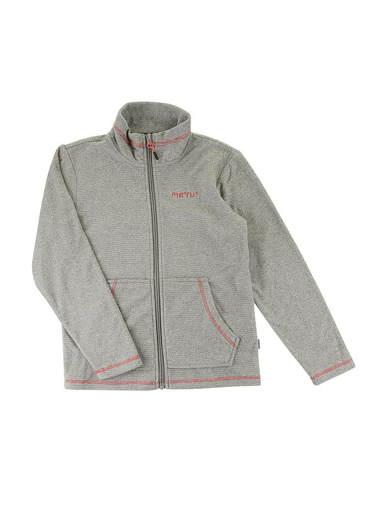 MERU | Kinder Fleecejacke Pori Fleece | grau