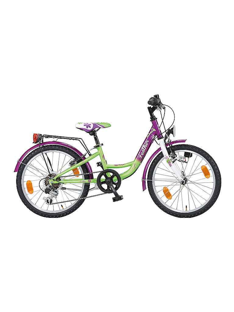 "MILES | Jugendfahrrad 20"" Feather Girl 