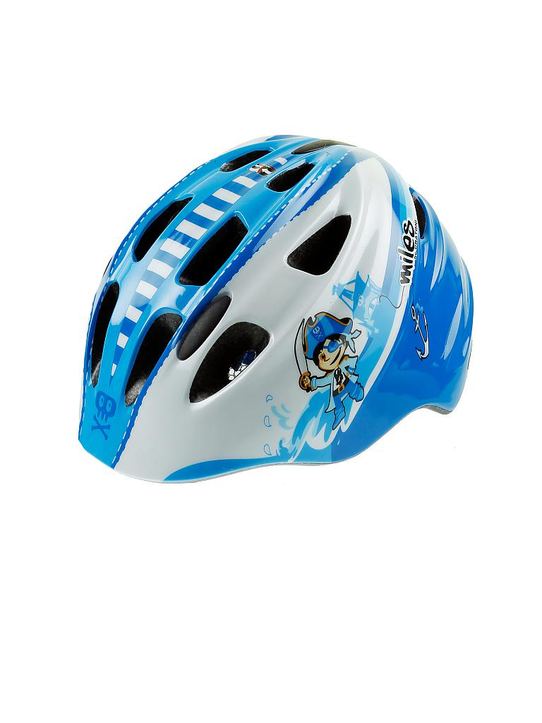 MILES | Kinder Fahrradhelm C-Kid Pirate | blau