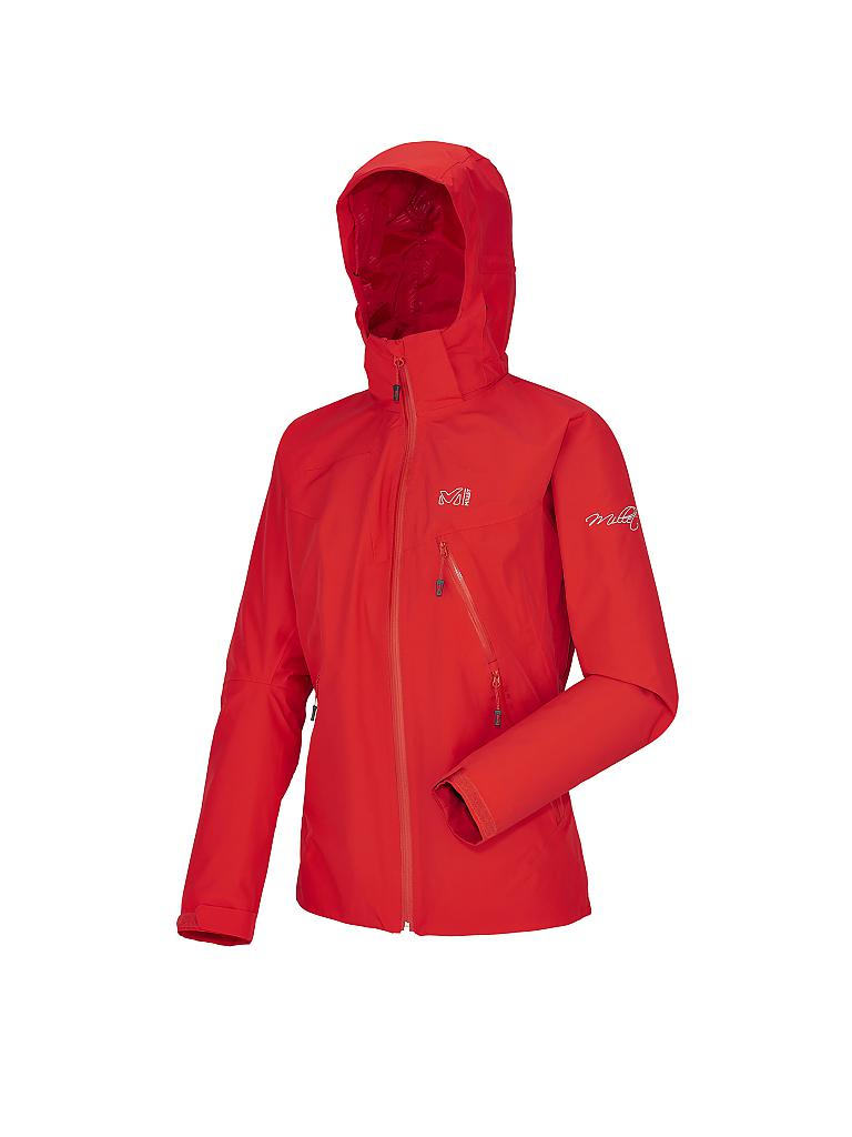 MILLET | Damen Jacke Peak Light GTX | rot