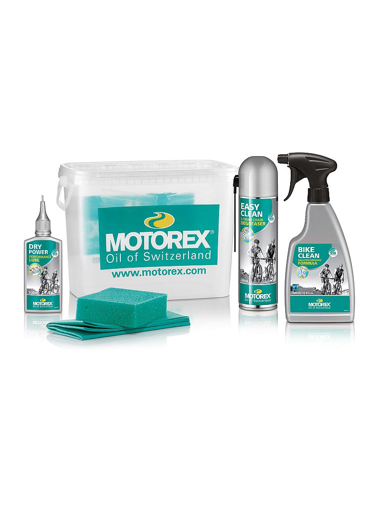 MOTOREX | Reinigungs-Set Bike Cleaning Kit | transparent