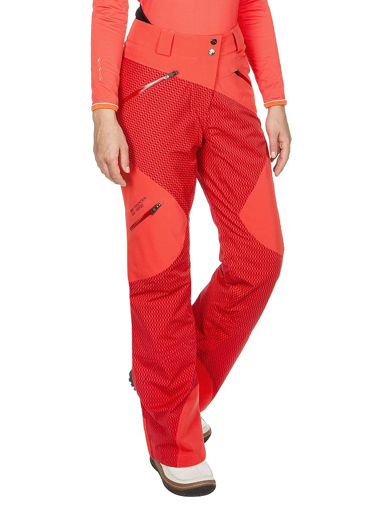 MOUNTAIN FORCE | Damen Skihose | rot