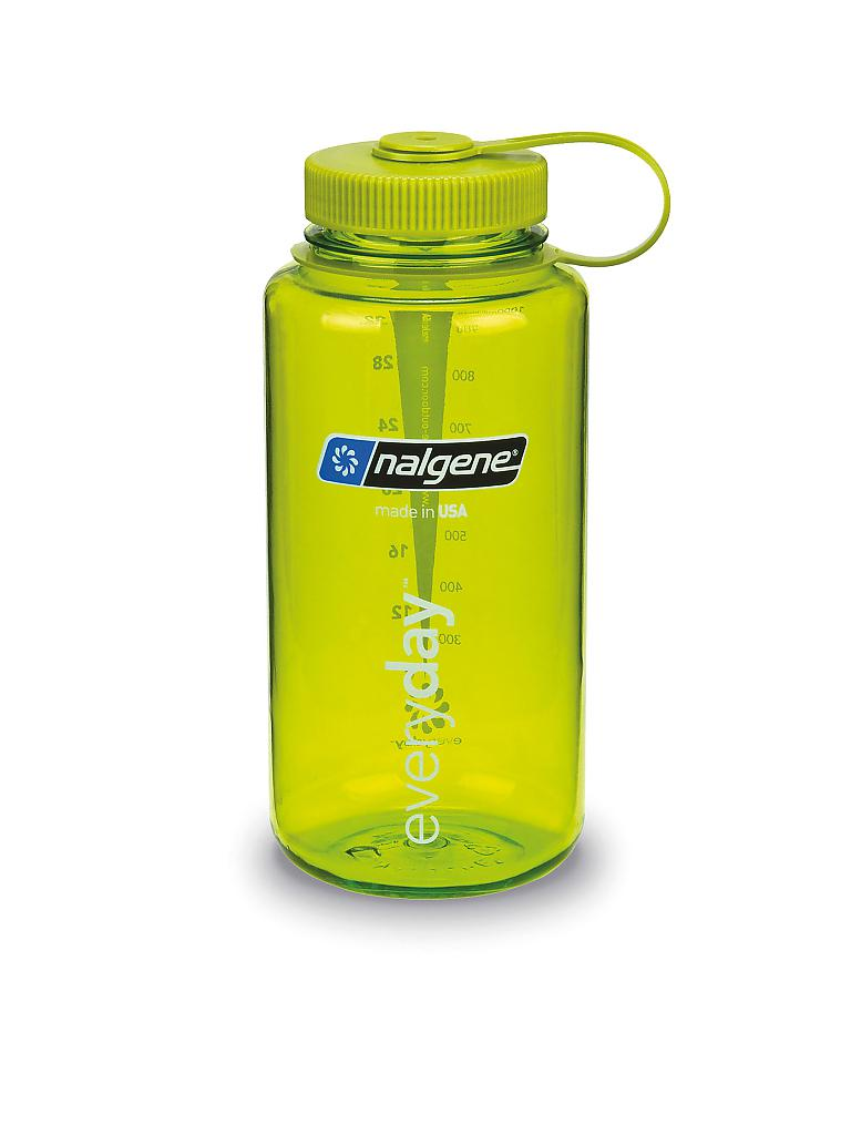 NALGENE | Trinkflasche Wide Mouth Bottle 34oz | grün