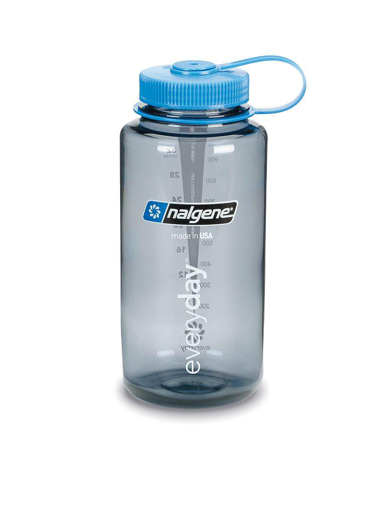 NALGENE | Trinkflasche Wide Mouth Bottle 34oz | grau