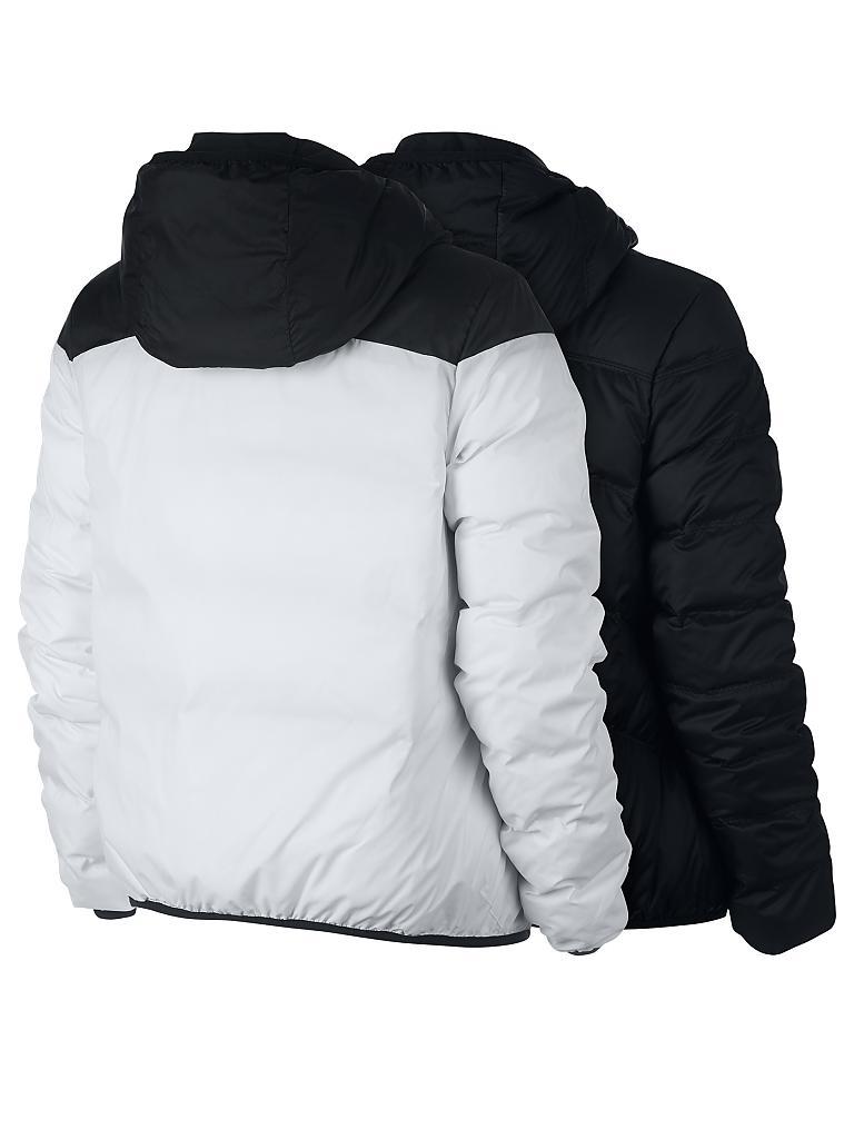 nike damen daunenjacke nike sportswear windrunner schwarz xs. Black Bedroom Furniture Sets. Home Design Ideas