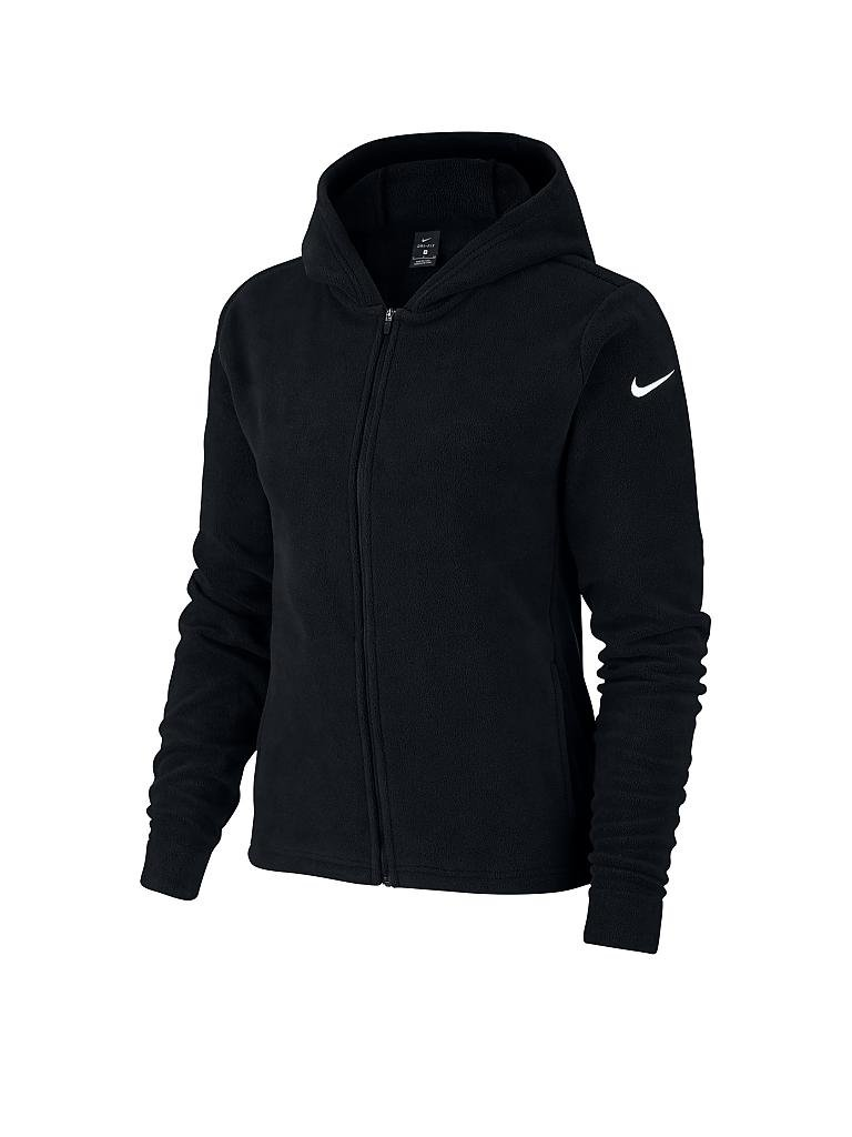 nike damen fitness jacke therma schwarz xs. Black Bedroom Furniture Sets. Home Design Ideas