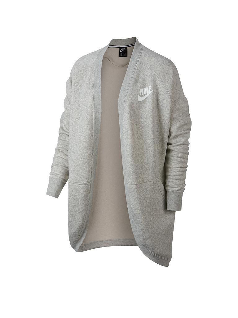 Nike damenjacke grau