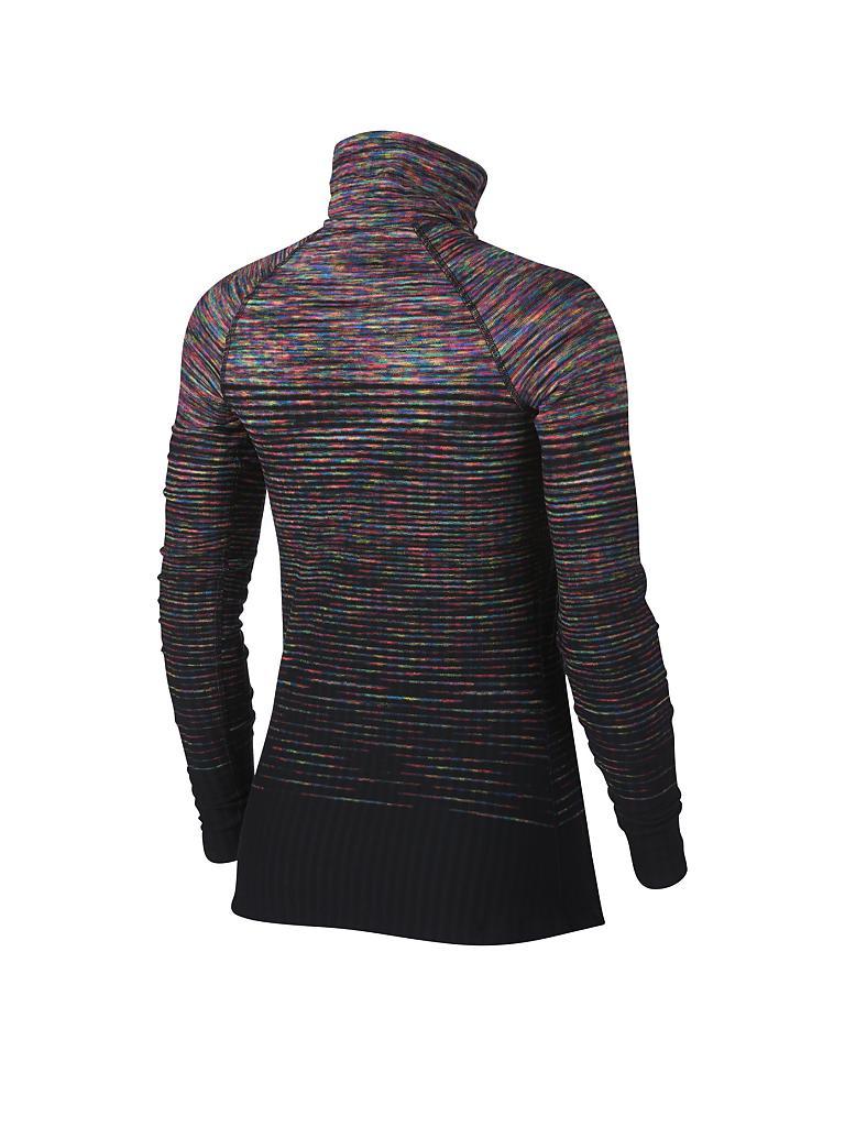 nike damen fitness langarmshirt pro hyperwarm bunt xs. Black Bedroom Furniture Sets. Home Design Ideas