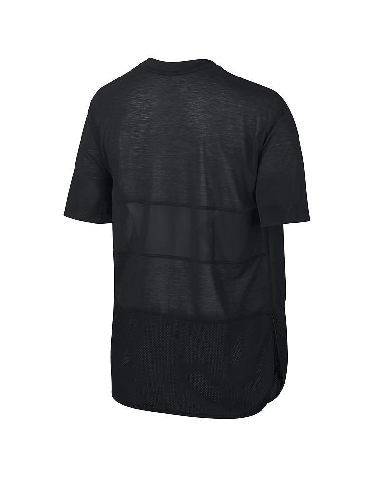 nike damen fitness shirt breathe schwarz xs. Black Bedroom Furniture Sets. Home Design Ideas
