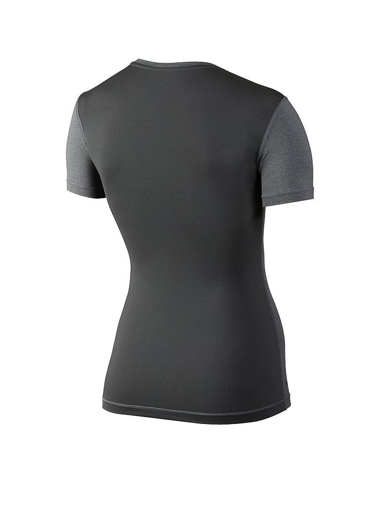 NIKE | Damen Fitness-Shirt Pro Cool Graphic | grau