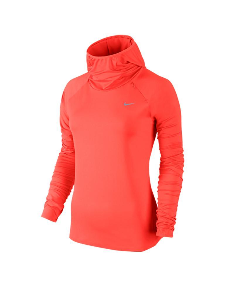 nike damen hoodie element orange xs. Black Bedroom Furniture Sets. Home Design Ideas