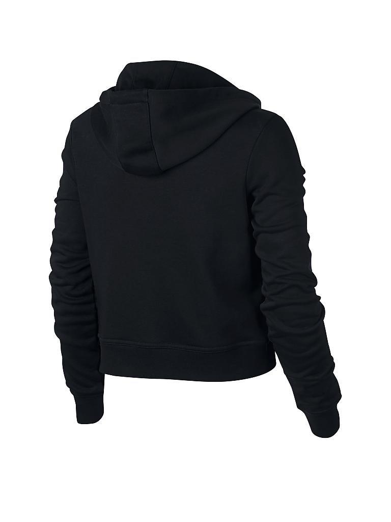 nike damen hoodie nike sportswear swoosh schwarz l. Black Bedroom Furniture Sets. Home Design Ideas