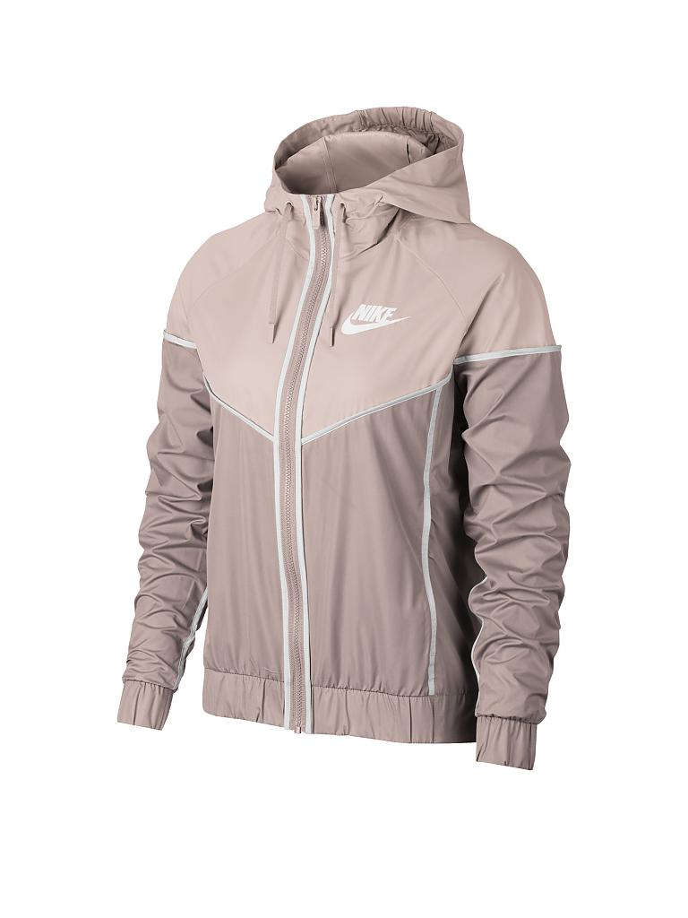 nike damen jacke nike sportswear windrunner rosa xs. Black Bedroom Furniture Sets. Home Design Ideas