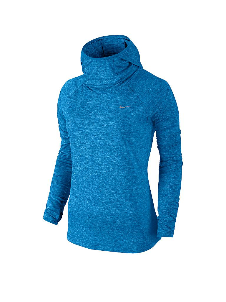 NIKE | Damen Laufhoodie Element | blau